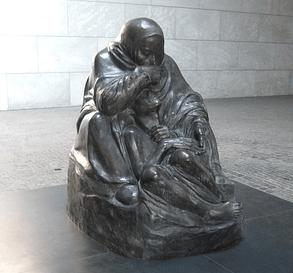 Madre e hijo muerto de Käthe Kollwitz